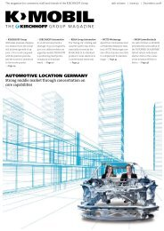 automotive location germany the group magazine - Kirchhoff Group