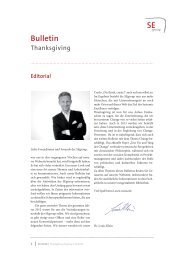 zum Thanksgiving-Bulletin II/2012 - Systemic Excellence Group