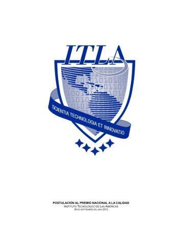 5 Memoria de postulación Gran Premio Nacional a la Calidad ... - ITLA