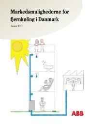 Markedsmulighederne for fjernkøling i Danmark