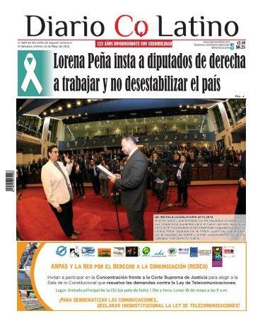 Edición 16 de Mayo de 2015