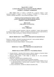 Návrh VZN č. 3/2011 o určení výšky príspevku na ... - obecvlachy.sk