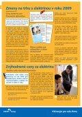 Zmeny na trhu s elektrinou v roku 2009 - Východoslovenská ... - Page 2