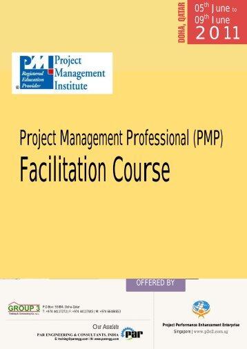 Project Management Professional(PMP) - Parengg.com