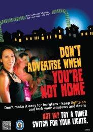 to view the darker nights PDF. - West Midlands Police