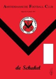 18 augustus 2011 90ste jaargang nummer 1 - AFC, Amsterdam