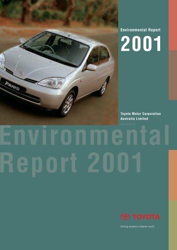Toyota Motor Corporation Environmental