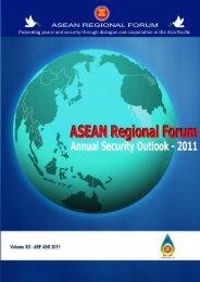 ARF Annual Security Outlook 2011.pdf - ASEAN Regional Forum