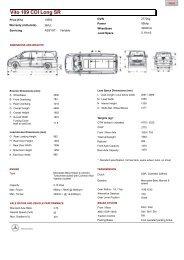 Vito 109 CDI Long SR - Purple Contracts
