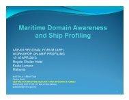 Maritime Domain Awareness and Ship Profiling.pdf - ASEAN Regional ...