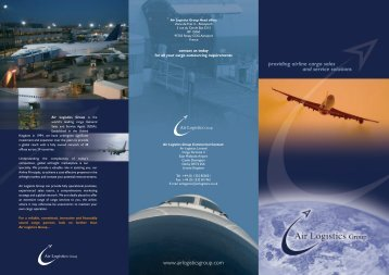 Company Brochure - Air Logistics USA