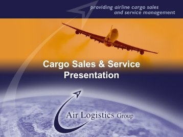 Company Presentation - Air Logistics USA