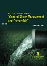 Ground Water Management and Ownership - of Planning Commission