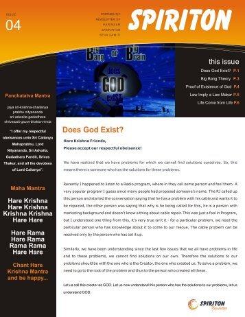 004 Does God Exist - ebooks - ISKCON desire tree