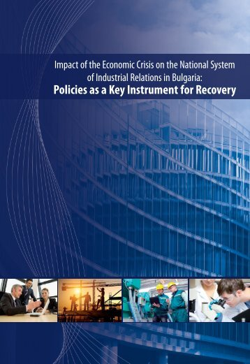 Impact of the Economic Crisis on the National System of Industrial ...