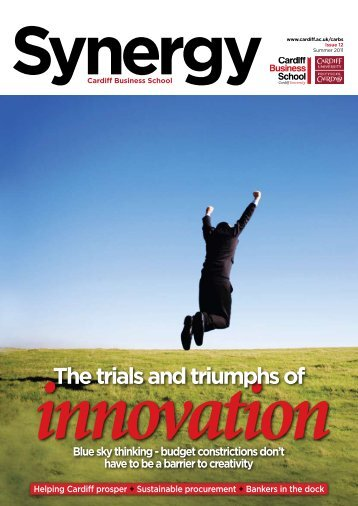Issue 12 (Summer 2011) - Cardiff Business School - Cardiff University