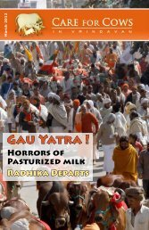 Gau Yatra ! - Care for Cows