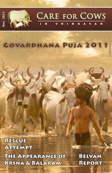 CFC November 2011 Newsletter - Care for Cows