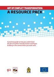 Handbook on Art of Conflict Transformation (ACT) EN(2010)