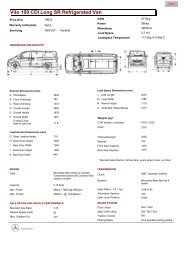 Mercedes Full Specification - Purple Contracts