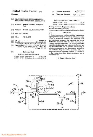 Transmission Injection-Locked Dielectric Resonator Oscillator