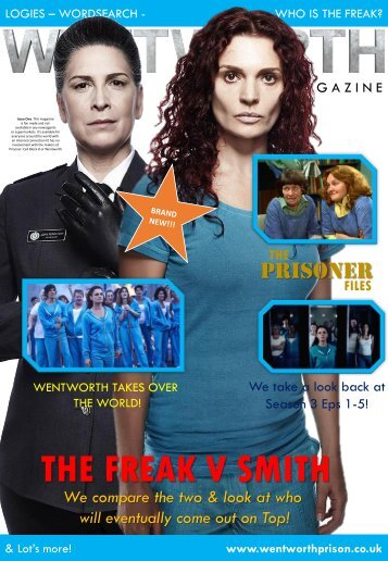 Wentworth Magazine - Issue One
