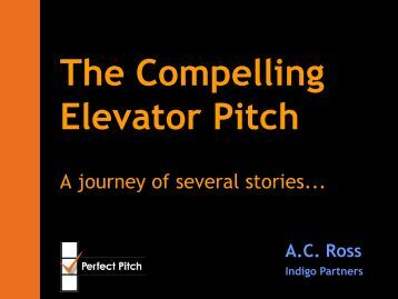 The Compelling Elevator Pitch - Global Strategic Innovation