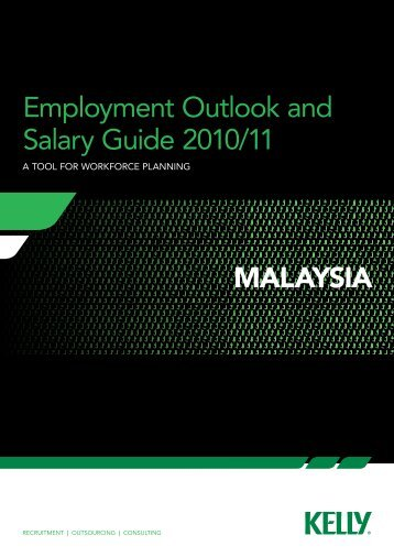 Employment Outlook and Salary Guide 2010/11 malaysia