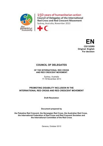 CD13 DR9 - Standing Commission of the Red Cross and Red ...