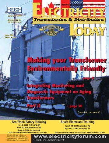 Read Magazine - Electricity Today Magazine