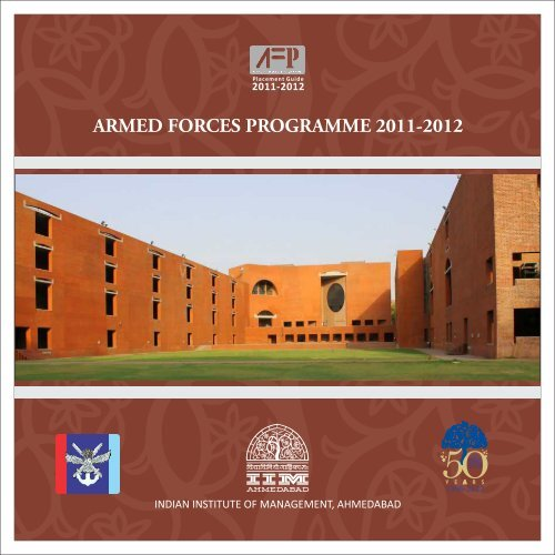 ARMED FORCES PROGRAMME 2011-2012 - Indian Institute of ...