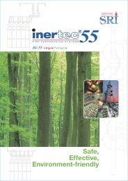 Download Inertec55 Fire Suppression Systems Catalog - ISGM