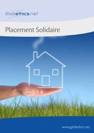 Placement Solidaire - Sustainable Finance Geneva