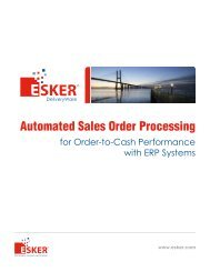 Automated Sales Order Processing