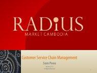 Customer Service Chain Management Training Module