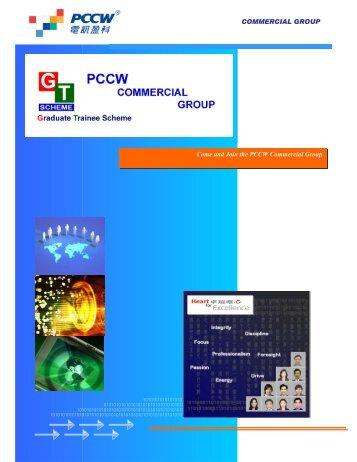 Commercial Group - Graduate Trainee Scheme - PCCW Graduate ...