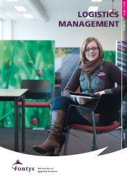 LOGISTICS MANAGEMENT - Fontys University of Applied Sciences