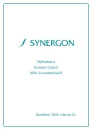 SYN_Q4_GYORS.pdf - Synergon Nyrt.