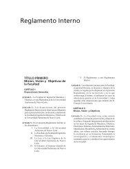 Reglamento Interno FIME - Facultad de Ingeniería Mecánica y ...