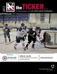 2012 Bay Street Hockey Tournament Magazine - Toronto General ...