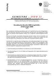 info 23 - Kammer der ZiviltechnikerInnen für Steiermark und Kärnten