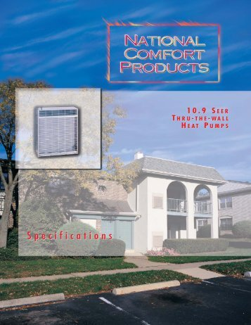 Heat Pumps R-22 (Archive) - National Comfort Products