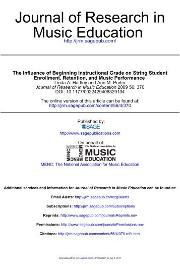 music education research call for papers Call for papers: a different world ©2011 cfplistcom • design by css templates • website by derick ariyam and michael becker.