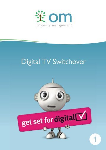 1 Digital TV Switchover - OM Property Management
