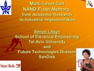 Multi-Level-Cell NAND Flash Memory: