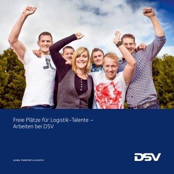 Freie Plätze für Logistik-Talente – Arbeiten bei DSV