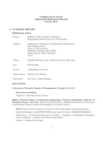 Antone Kusmanoff Application Letter and Resume - Texas A&M ...