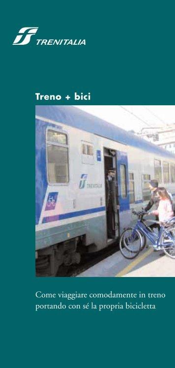 """la guida """"Treno + bici"""" - Fiab"""