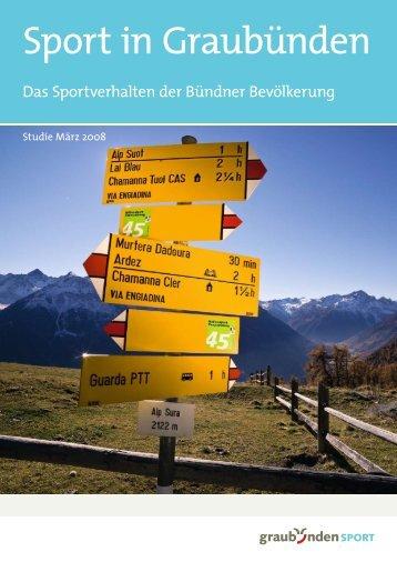 Sport in Graubünden - Amt für Volksschule und Sport