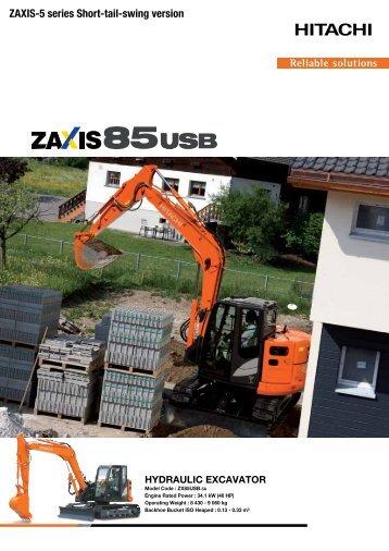 pdf brochure - Hitachi Construction Machinery Europe